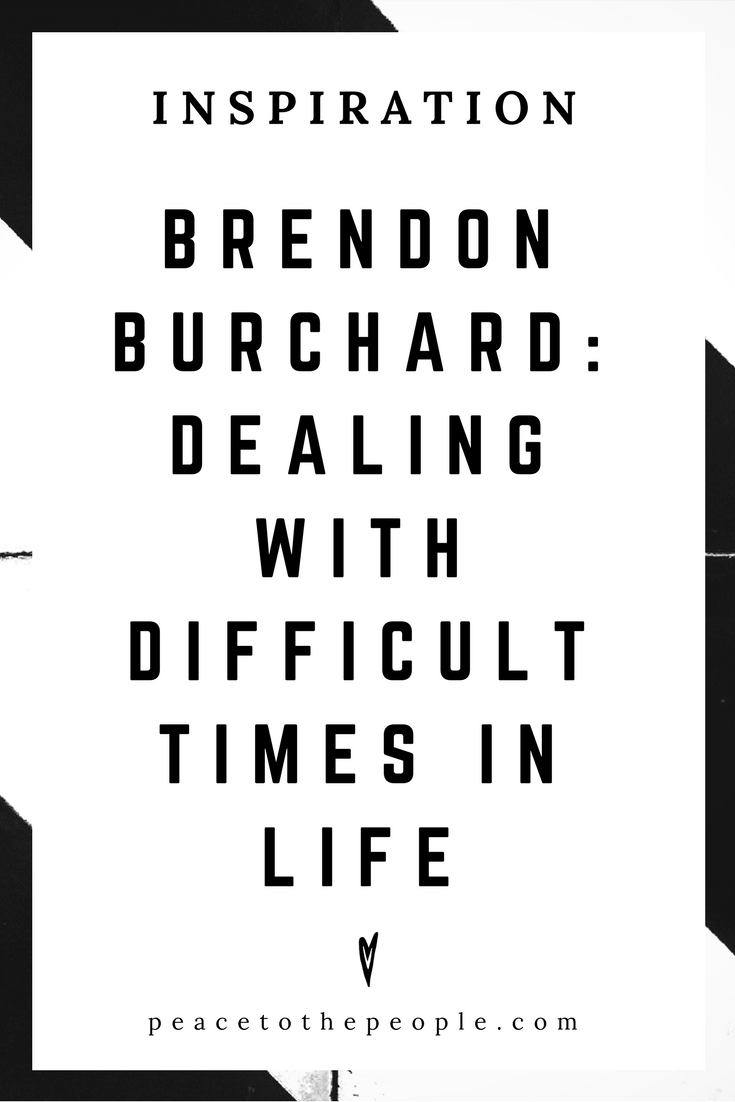 Brendon Burchard • Inspiration • Dealing with Difficult Times in Life • Lecture • Motivation • Wisdom • Peace to the People