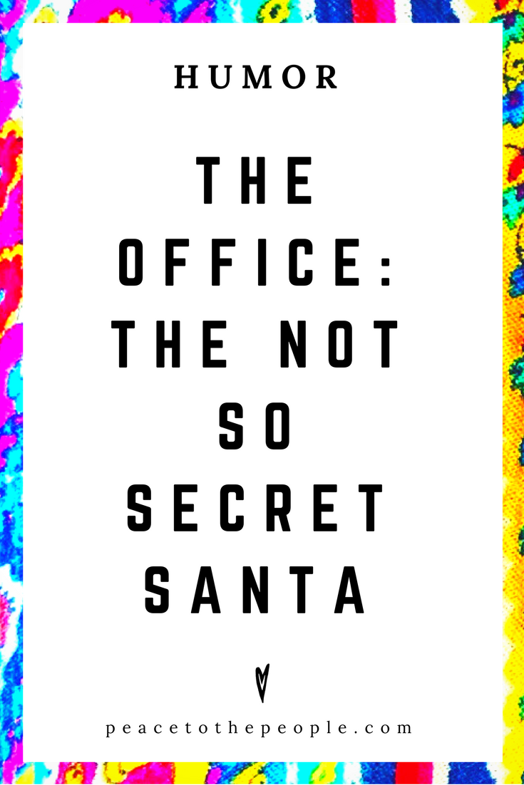 The Office • The Not So Secret Santa • Comedy • Culture • Hilarious •  LOL • Funny Videos  • Peace to the People