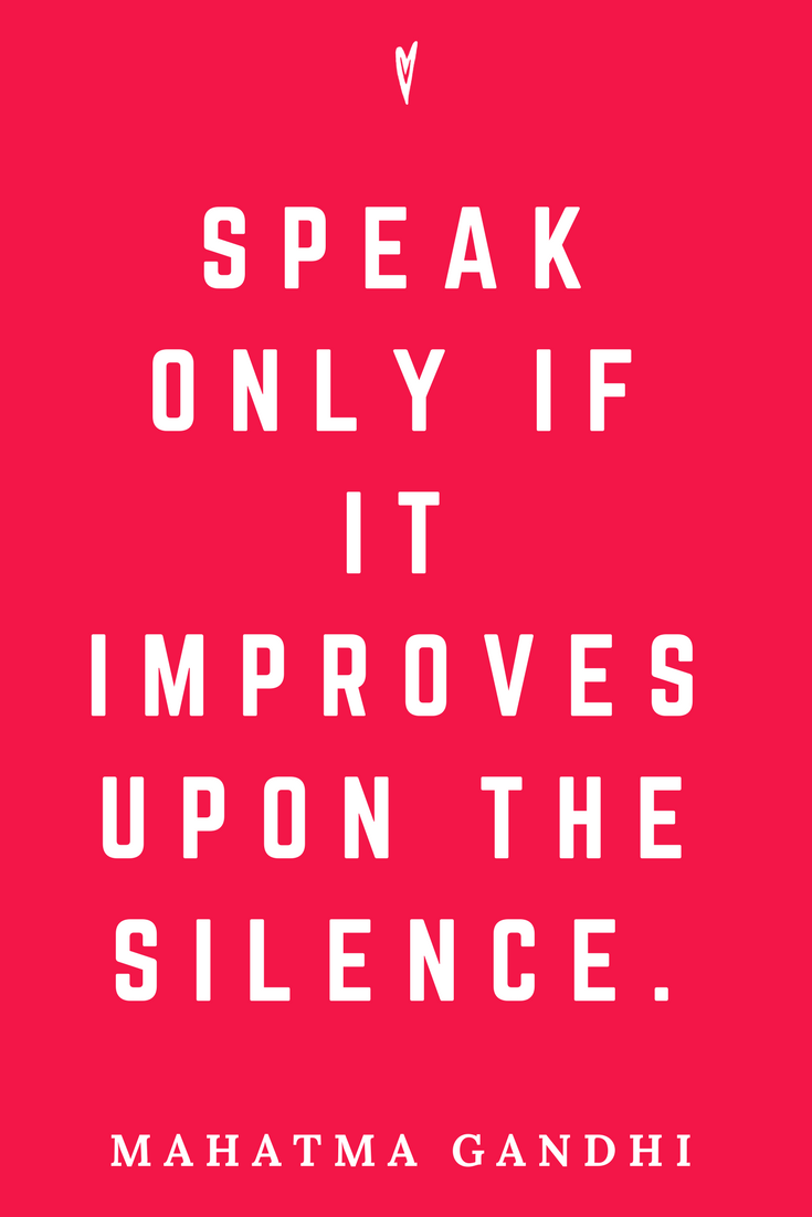 Mahatma Gandhi • Top 25 Quotes • Peace to the People • Columbus, Ohio • Inspiration, Motivation, Blog • Silence.png