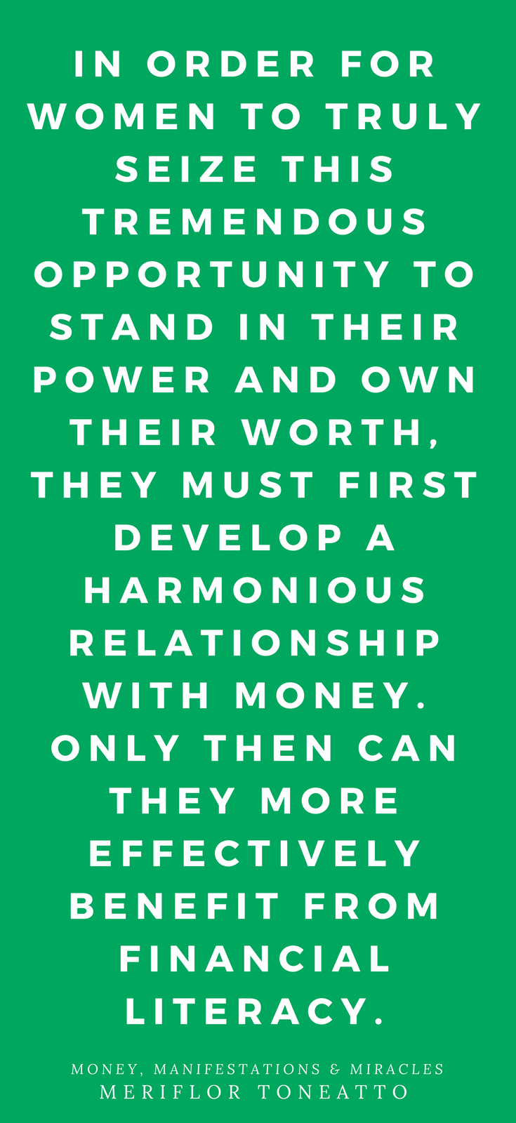 Money, Manifestations + Miracles • A Guide to Transforming Women's Relationships with Money • Meriflor Toneatto • New World Library • Book Review • Peace to the People • Business