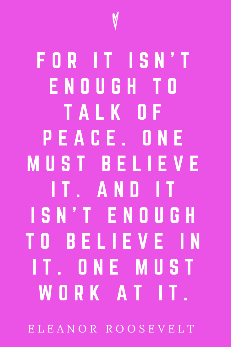 Top 25 Eleanor Roosevelt Quotes • Peace to the People • Pinterest • Motivation • Wisdom • Inspirational Quote