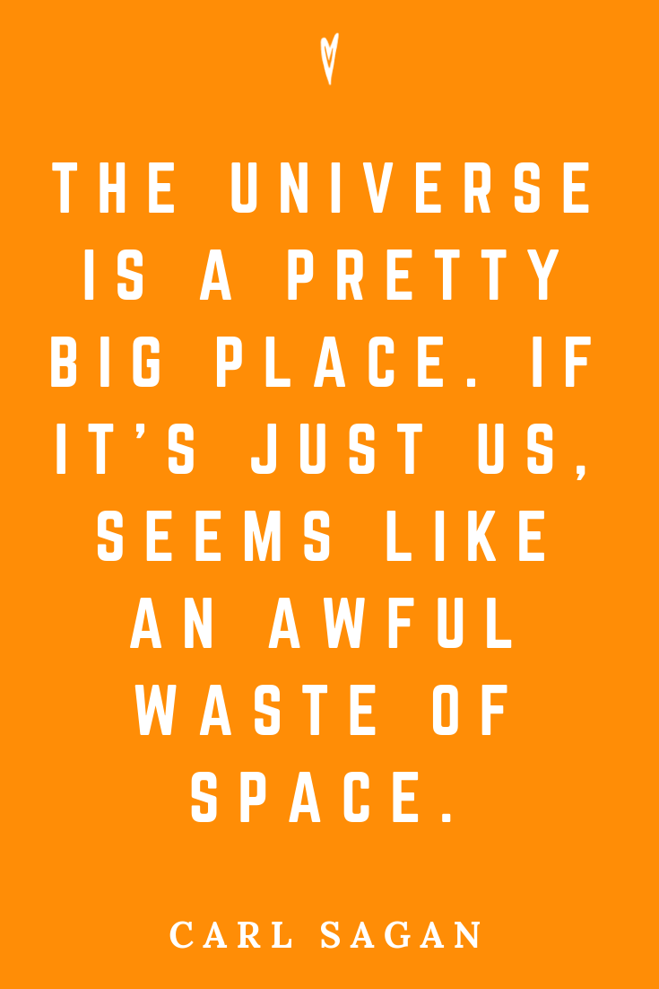 Top 25 Carl Sagan Quotes • Peace to the People • Pinterest • Mindfulness, Motivation, Wisdom • Space Universe.png