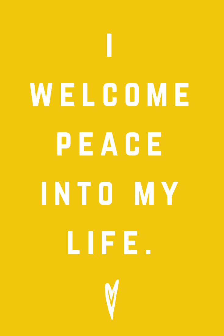 Positive Affirmations ♥ Meditation ♥ Mantras ♥ Wellness ♥ Peace to the People ♥ Joy ♥ Mindfulness ♥ Life