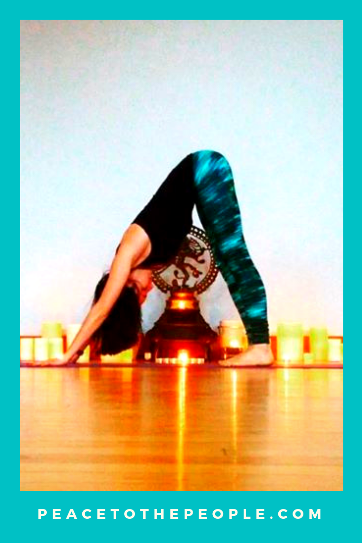 Columbus Ohio Private Yoga and Meditation Sessions • Arena District Athletic Club • Peace to the People • Downward Facing Dog