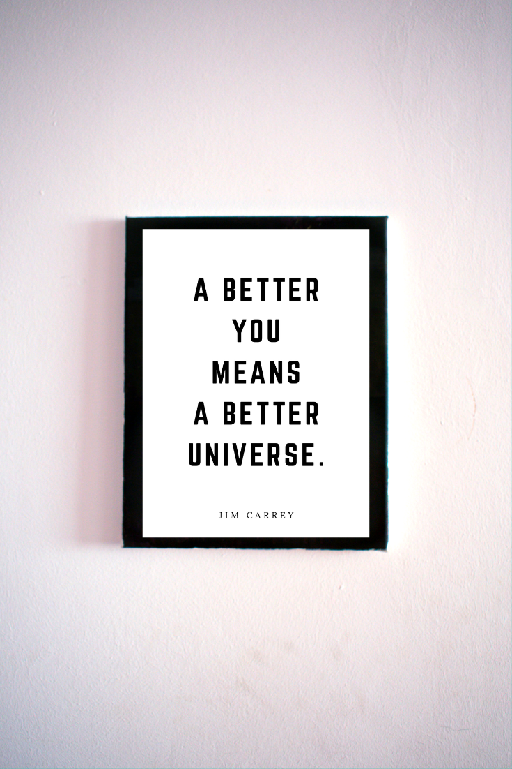A Better Universe 5x7 Printable Digital Download Home Office Decor Wall Art Peace To The People A Hub Of Inspiration For Mind Body Business