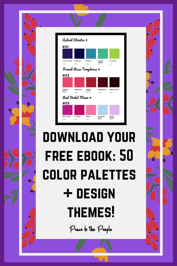 Peace to the People • Digital Marketing • Free Download • Color Palettes • Color Themes (7).png