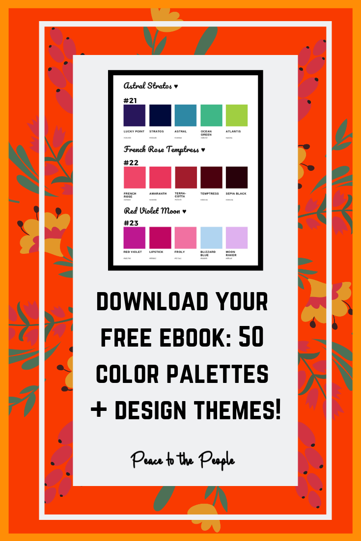 Peace to the People • Digital Marketing • Free Download • Color Palettes • Color Themes (5).png