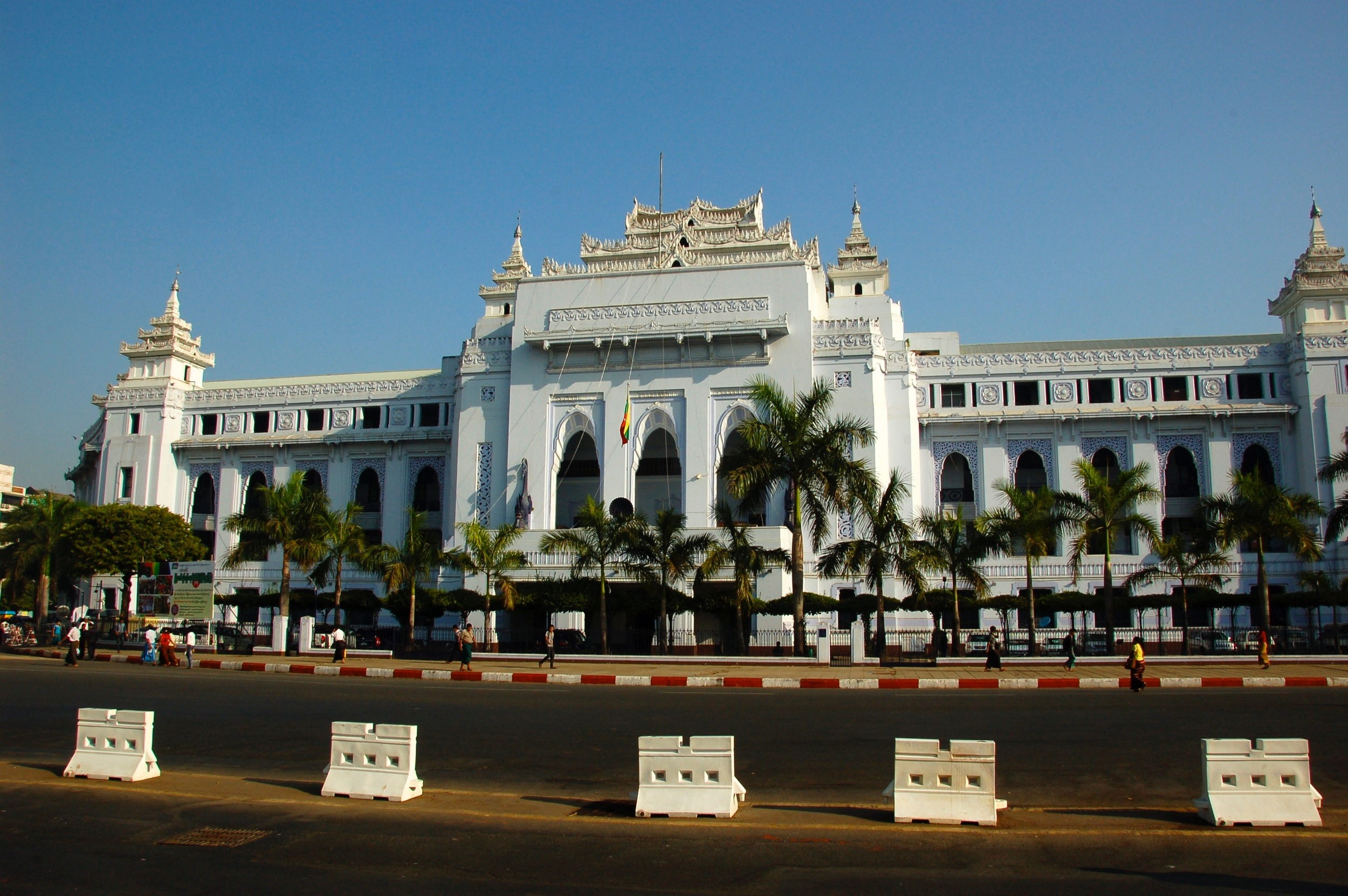 Old Capital Building, Yangon
