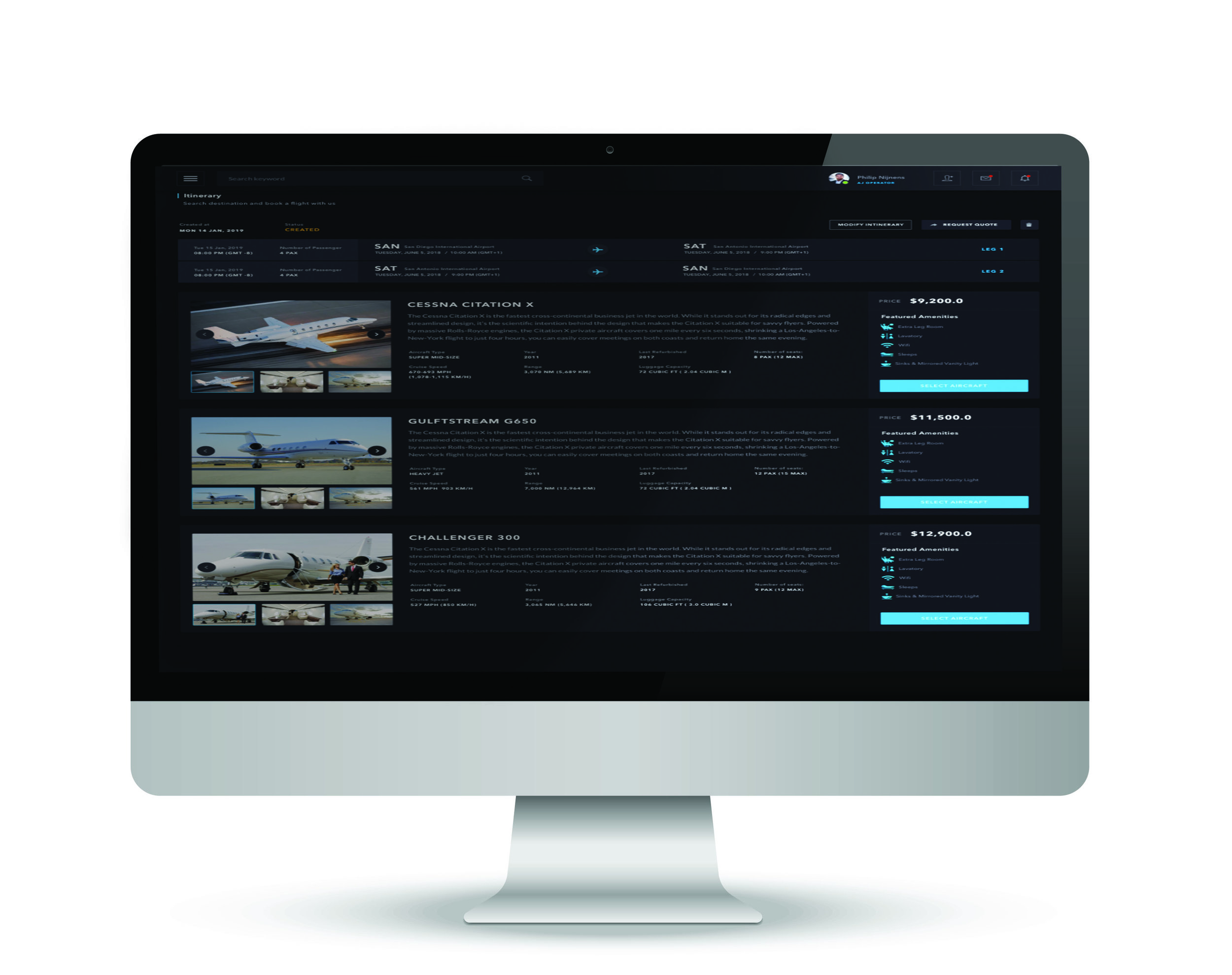 Get Free Access to JetOS - Sign up by clicking below to get access to JetOS, and begin using our technology to modernise your Aviation Operations.
