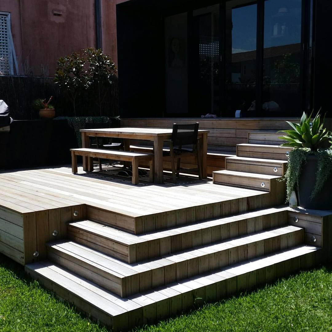 Lastest back deck with BBQ area from IBW constructions