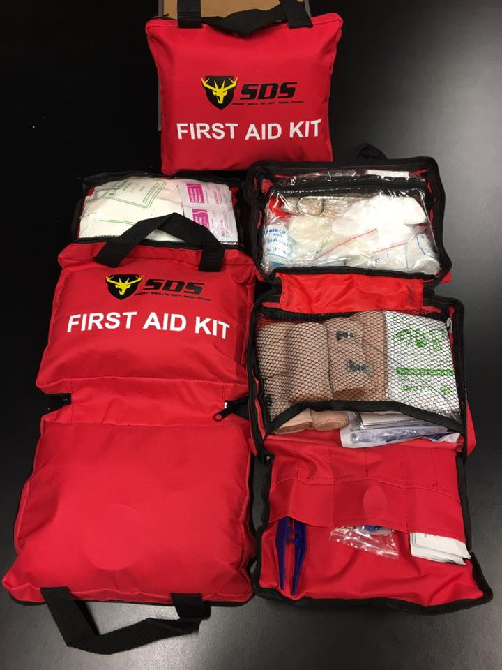 GRAB YOUR DELUXE 1ST AID KIT from SDS FOR $35 + gst