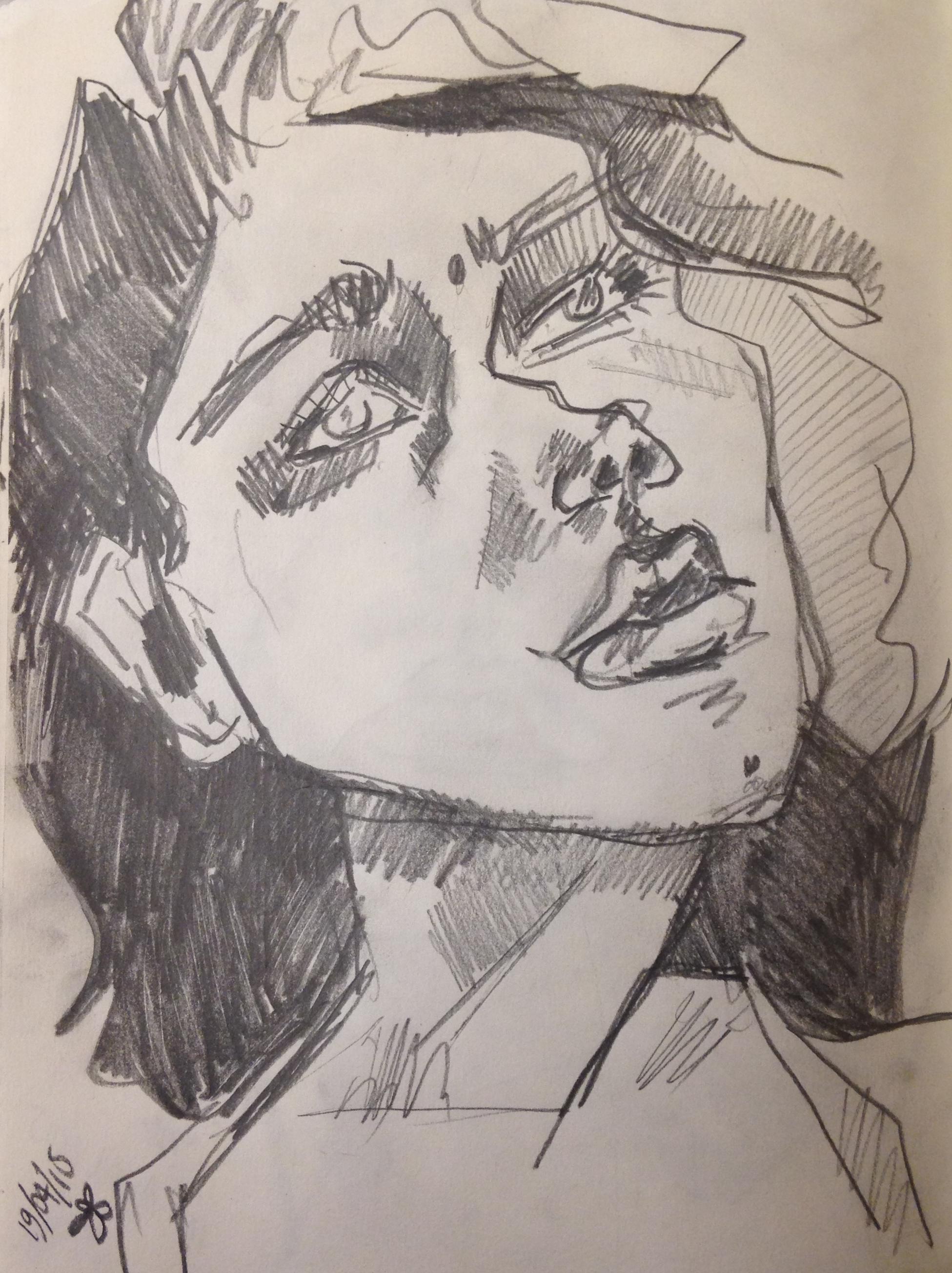 Sketch for paintings - Self Portrait.jpg