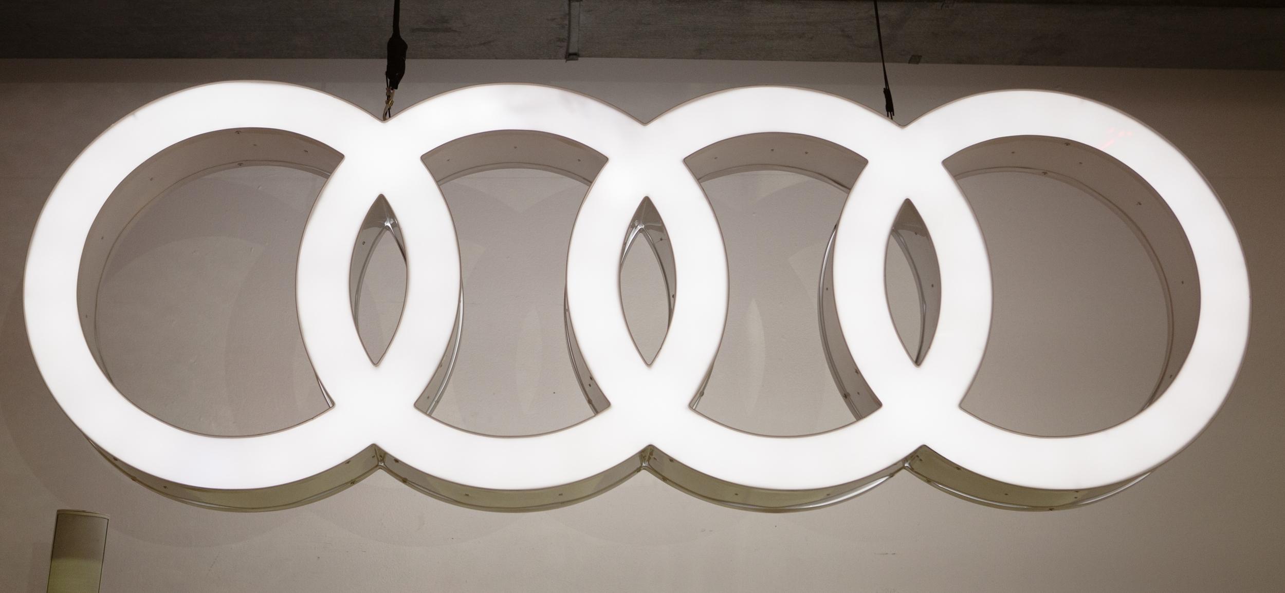 Audi R8 car reveal