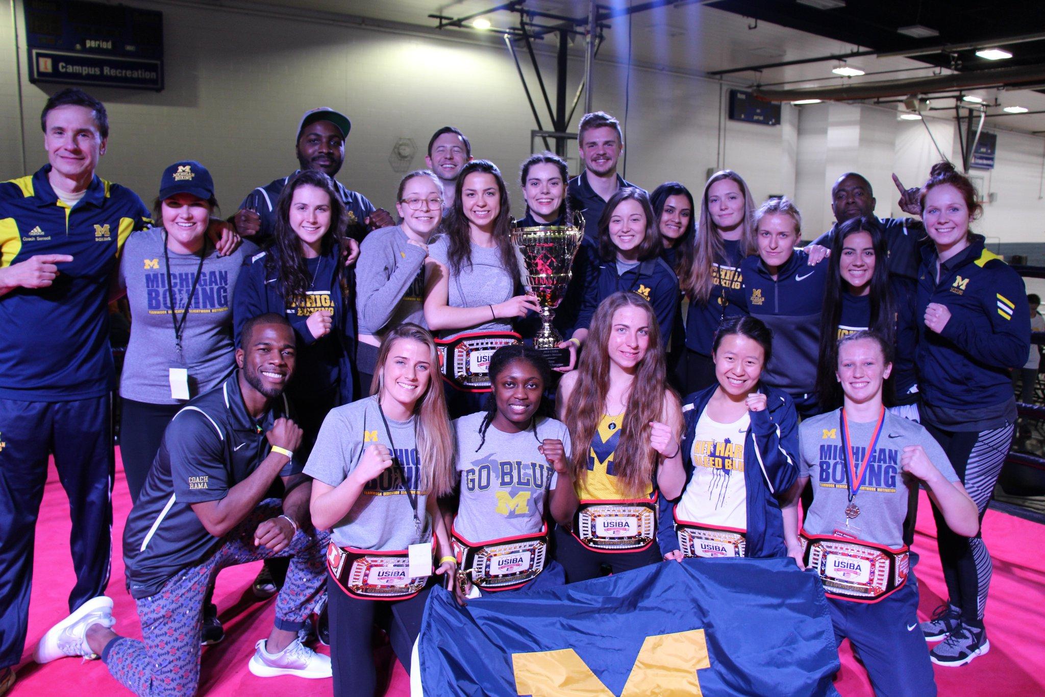 2018 Women's ChampionsUniversity of Michigan -