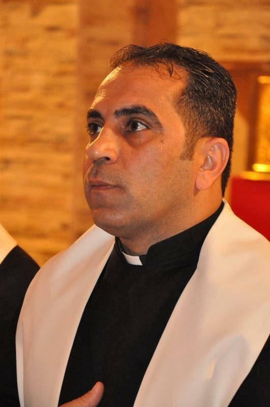 Reverend Father Aphram Mushe   Parochial Vicar of Jesus Sacred Heart Church  2015
