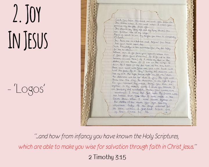 Point Two - Joy in Jesus