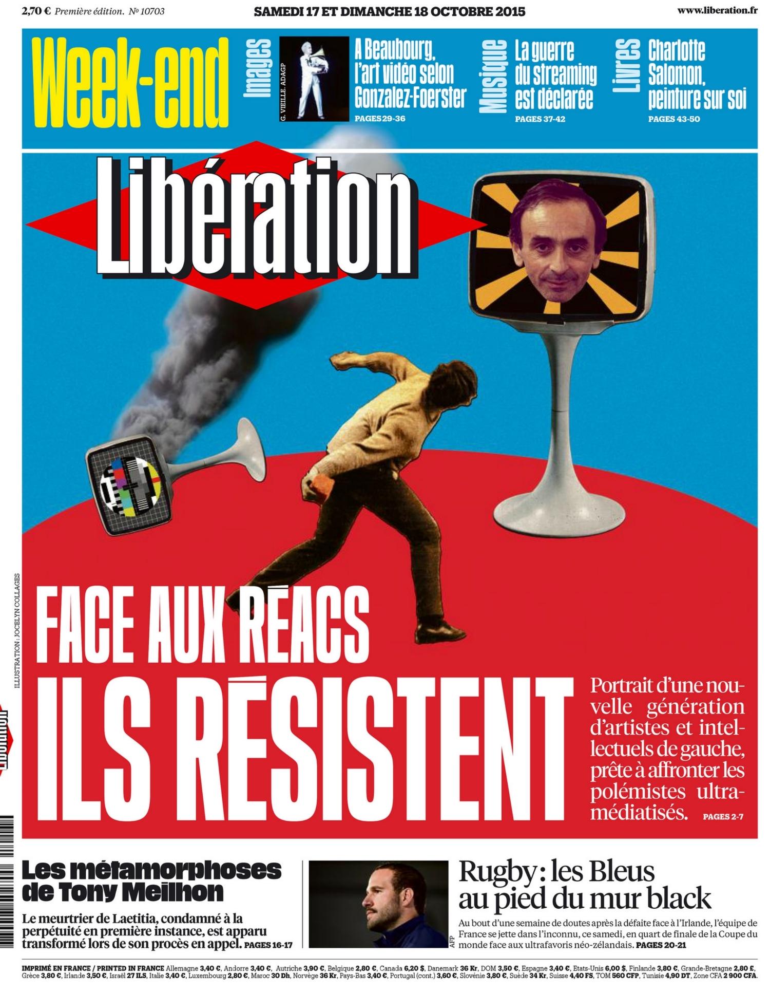 Libération (Octobre 2015)