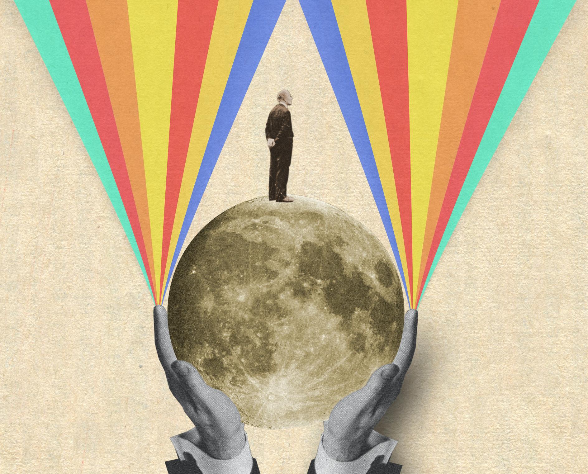 """""""Dans la lune"""""""