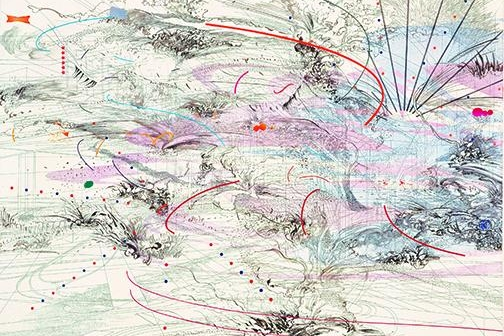 JULIE MEHRETU: The Addis Show