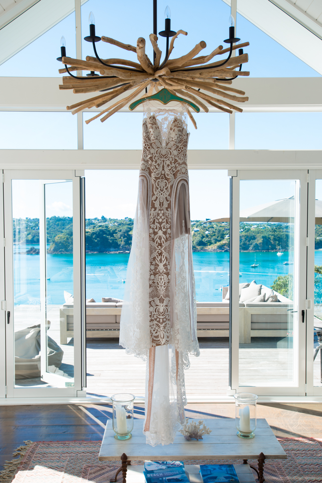 This amazing dress was designed by an Italian Couture dressmaker, who is based in Australia,Jaton Couture