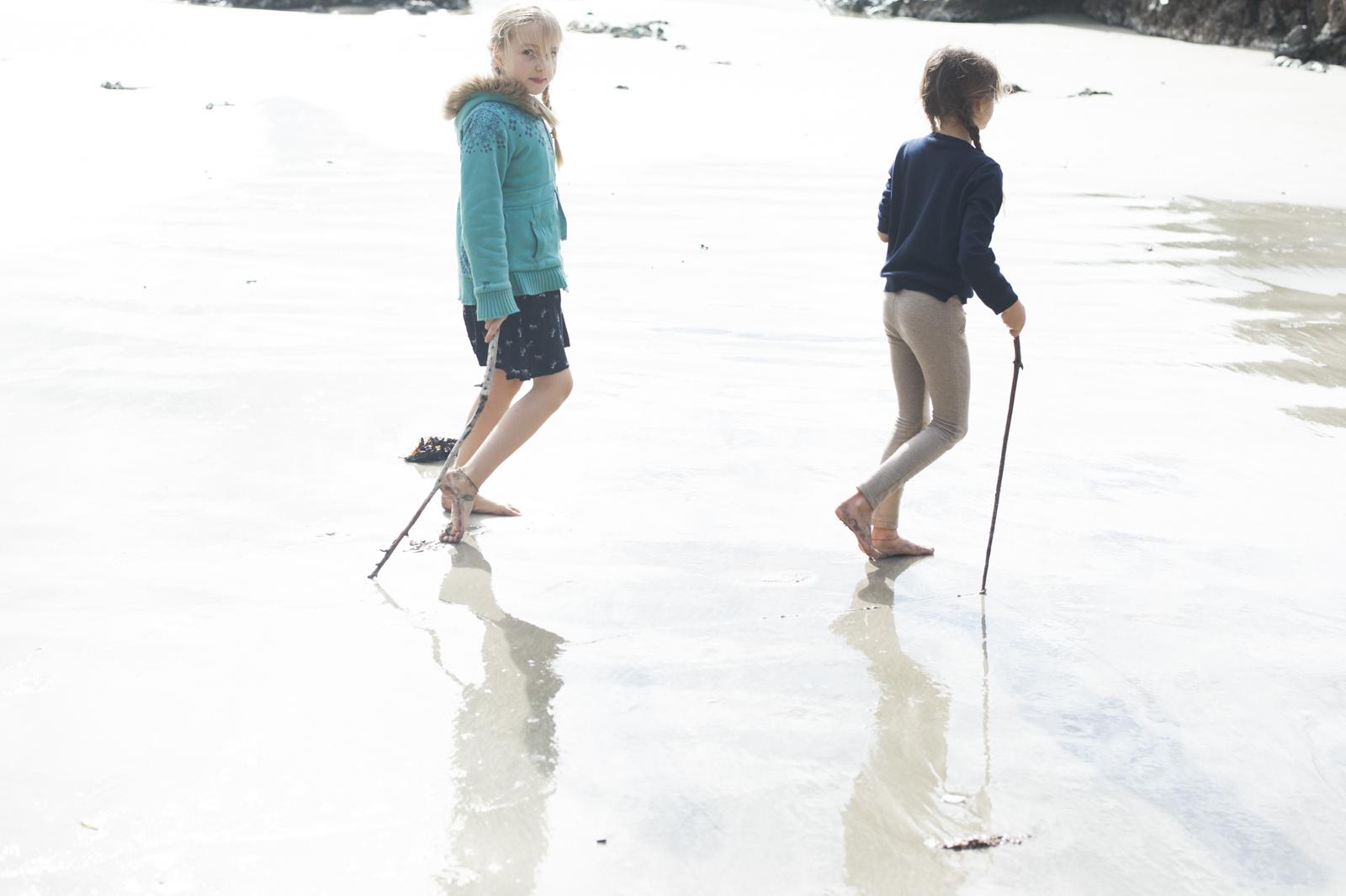 Silky soft sand underfoot
