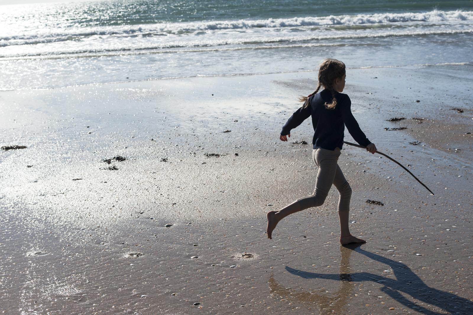 Kira running