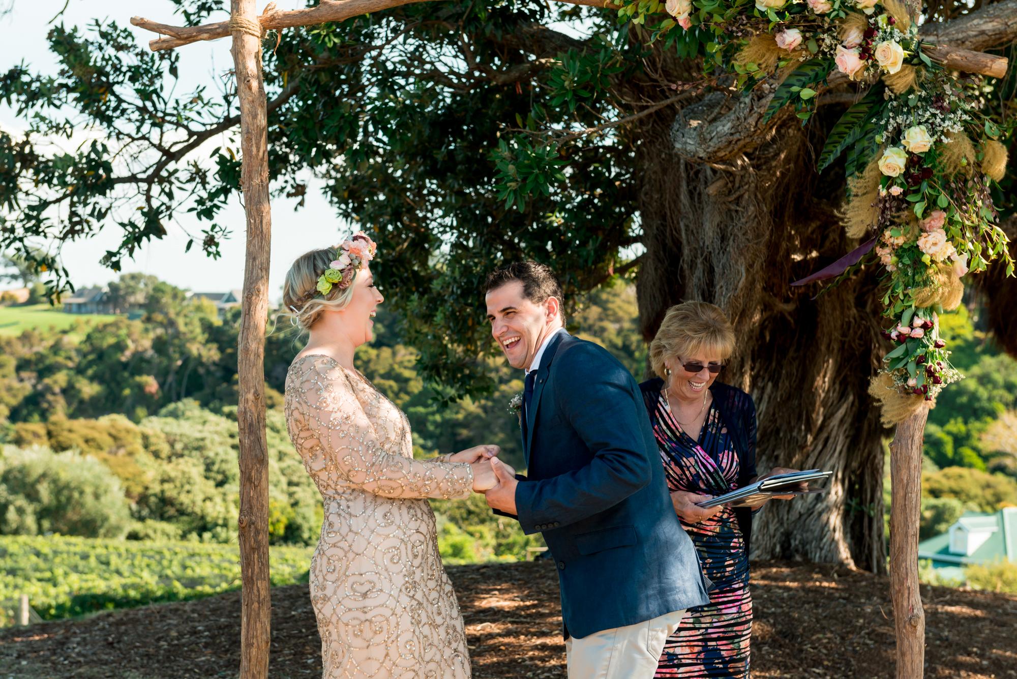 Ruby and Jake - Goldwater Estate Wedding, Waiheke