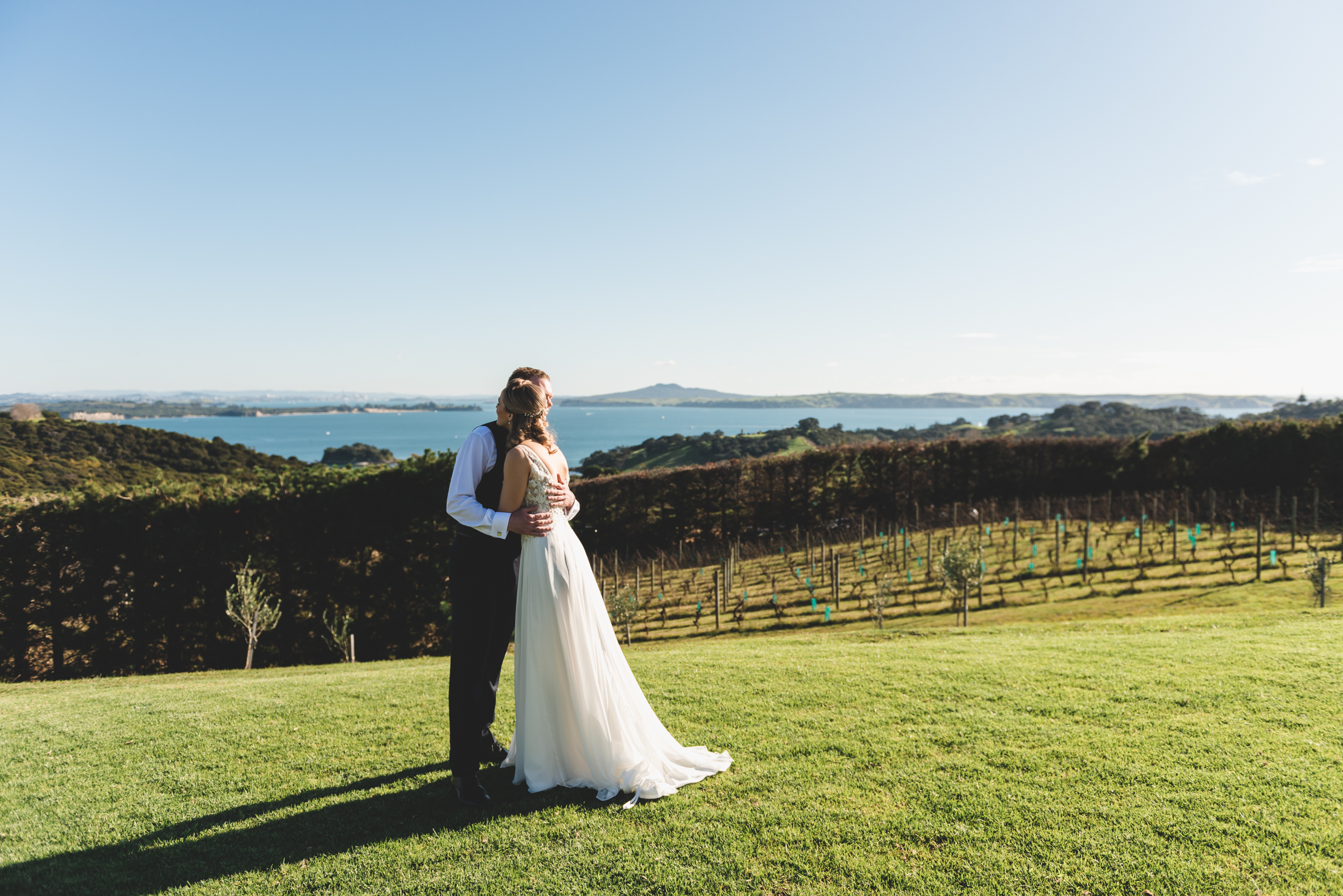Marion and James - Mudbrick Vineyard, Waiheke