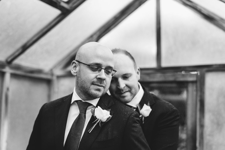 Jeremy and Glen - Mudbrick Vineyard