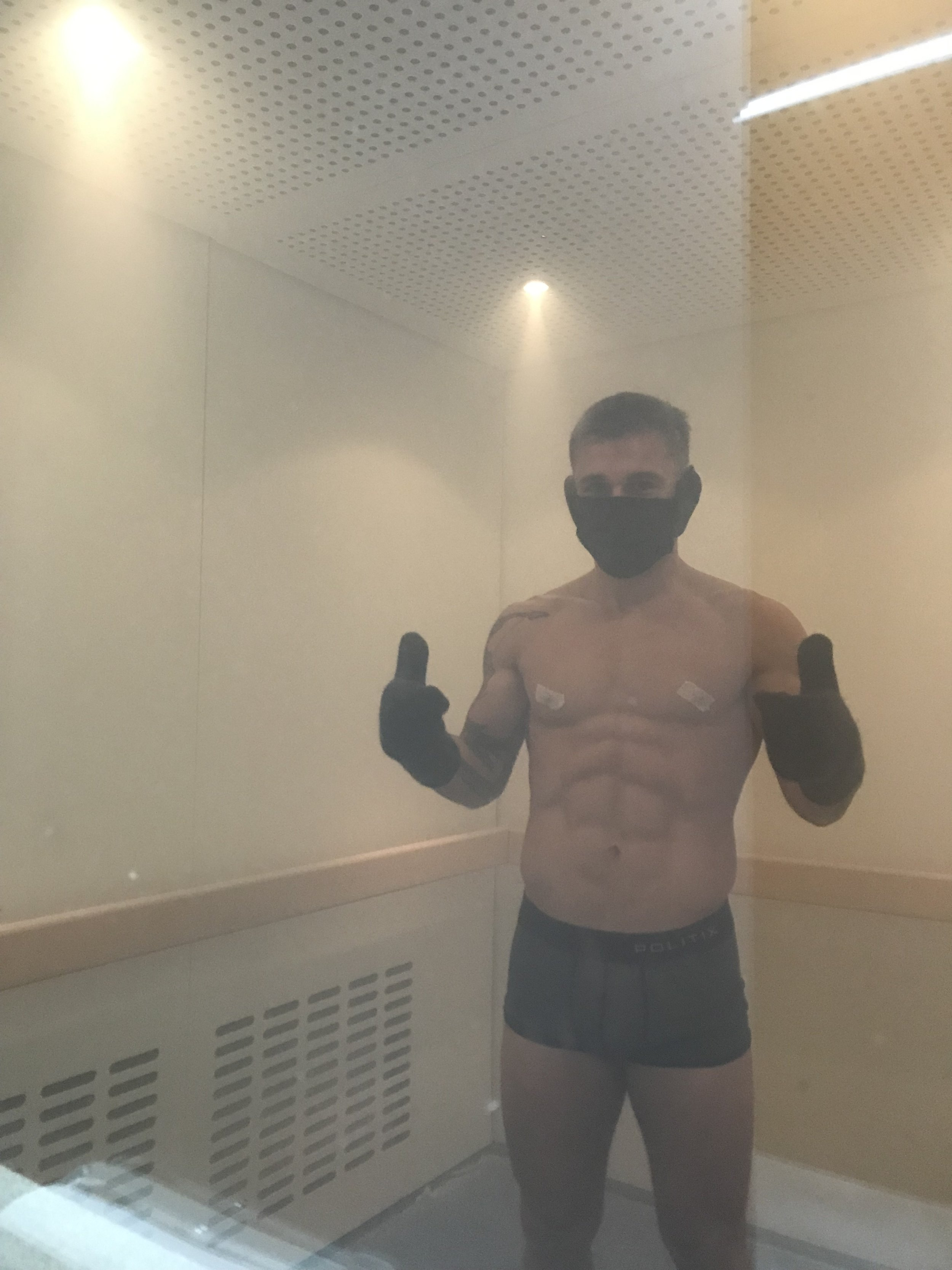 Kaan Ofli Whole Body Cryo at Alchemy Cryotherapy.JPG