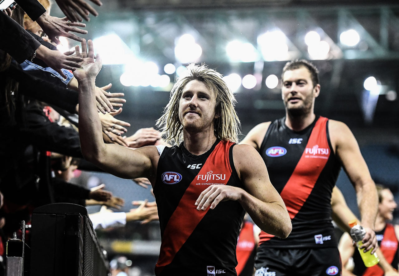 Dyson Heppell - Essendon Football Club   Captain of Essendon Football Club, AFL  Watch:  Finding My Peak Level  on PlayersVoice