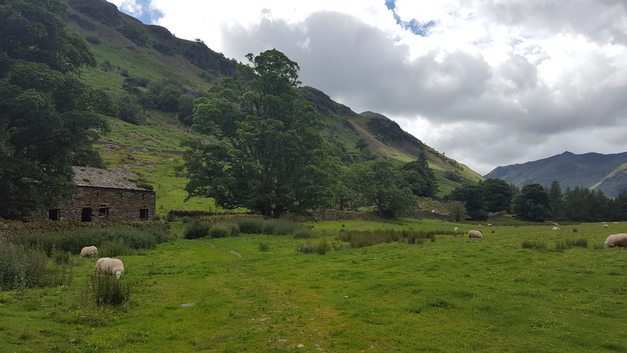 On the road from Grasmere to Patterdale