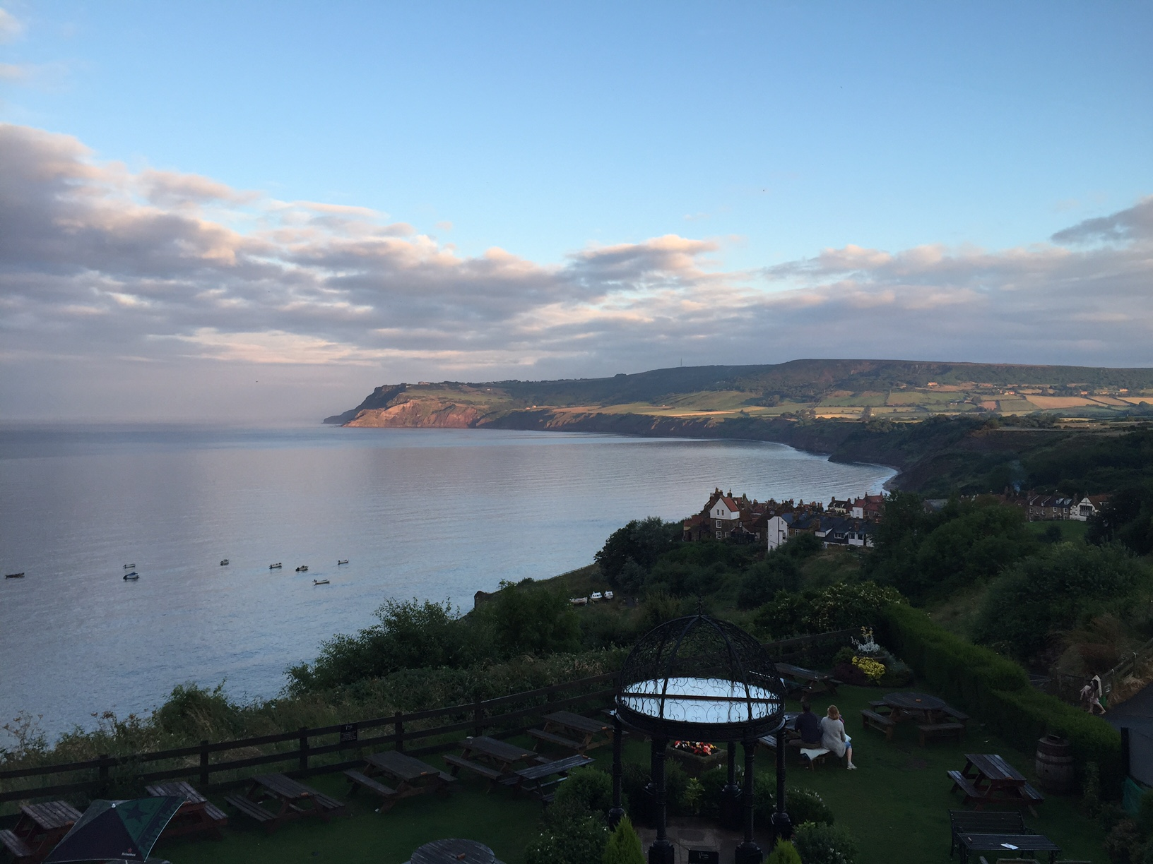 Robin Hood's Bay at Sunset