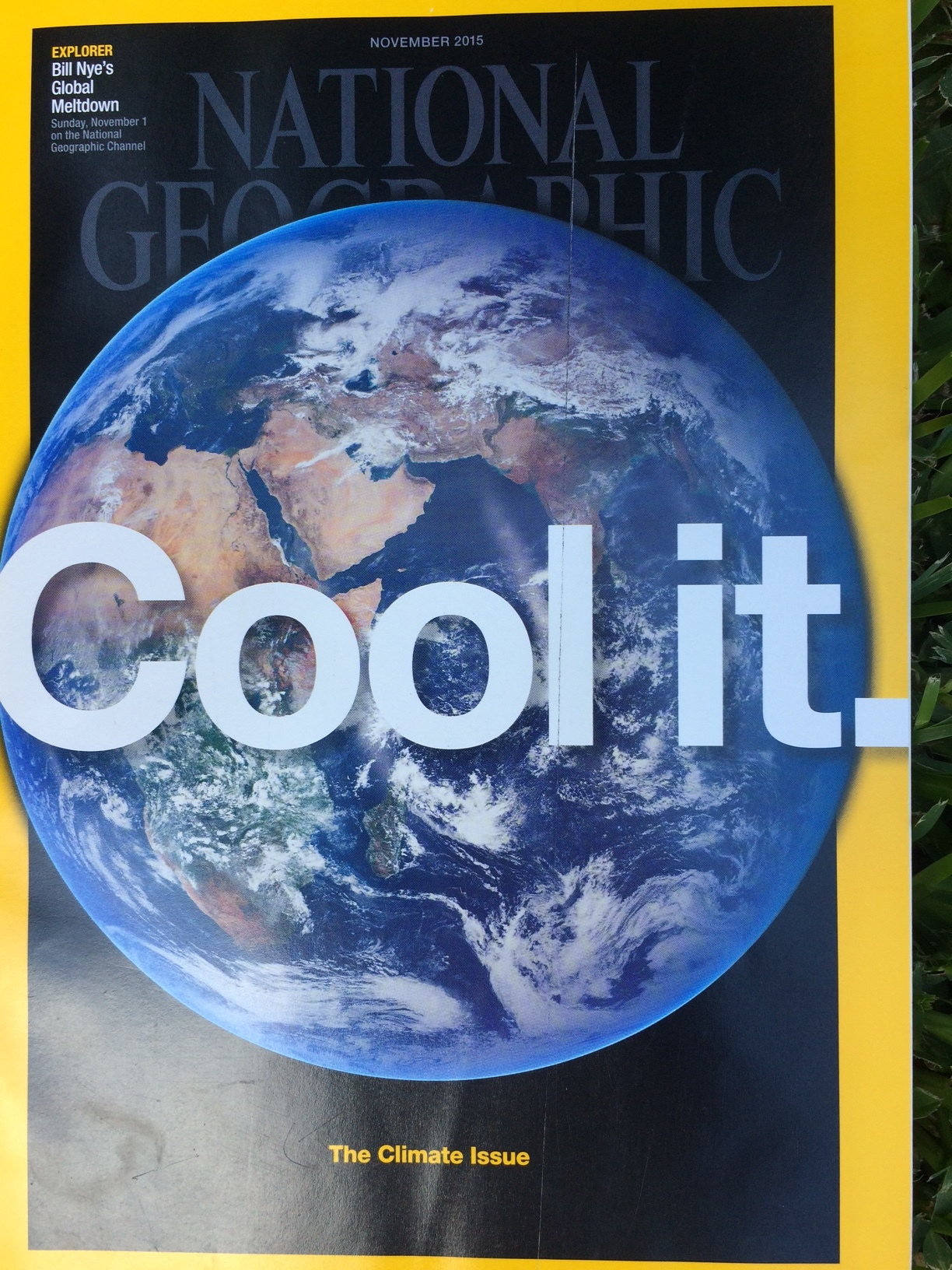 National Geographic  November 2015
