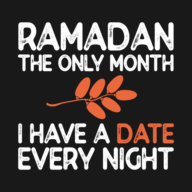 Traditionally, muslims break their fast with a glass of water (or milk) and few dates. Dates are excellent source of vitamines and minerals.