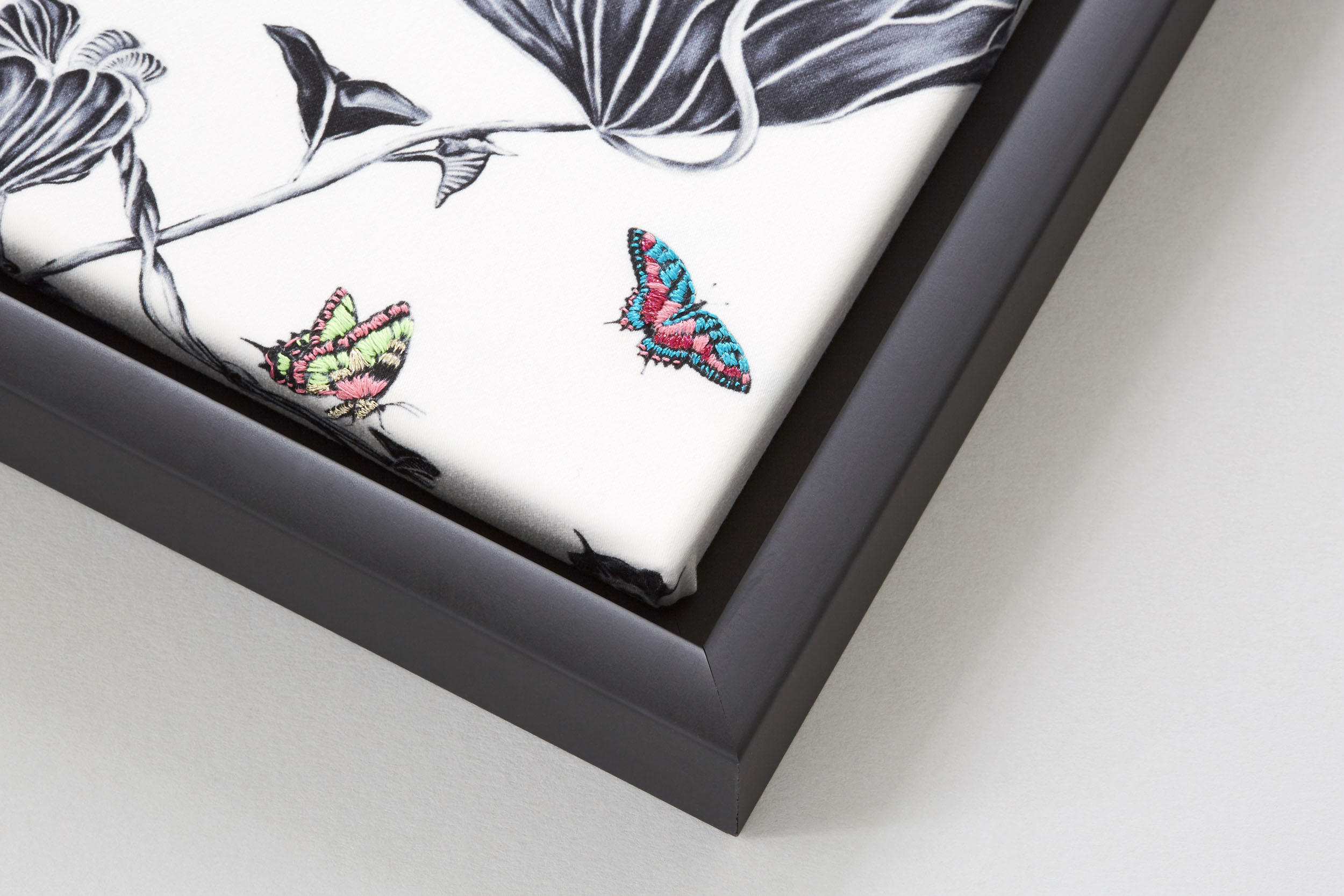 Corner of Multi Hummingbirds Artwork