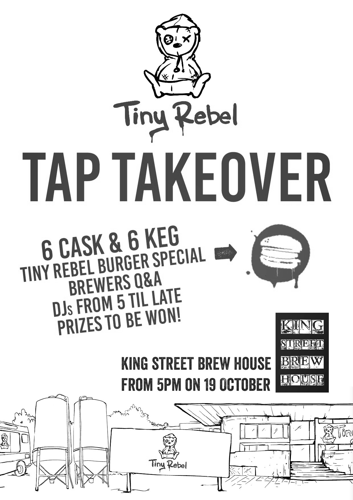 King Street Brewhouse - Tiny Rebel tap takeover.jpg