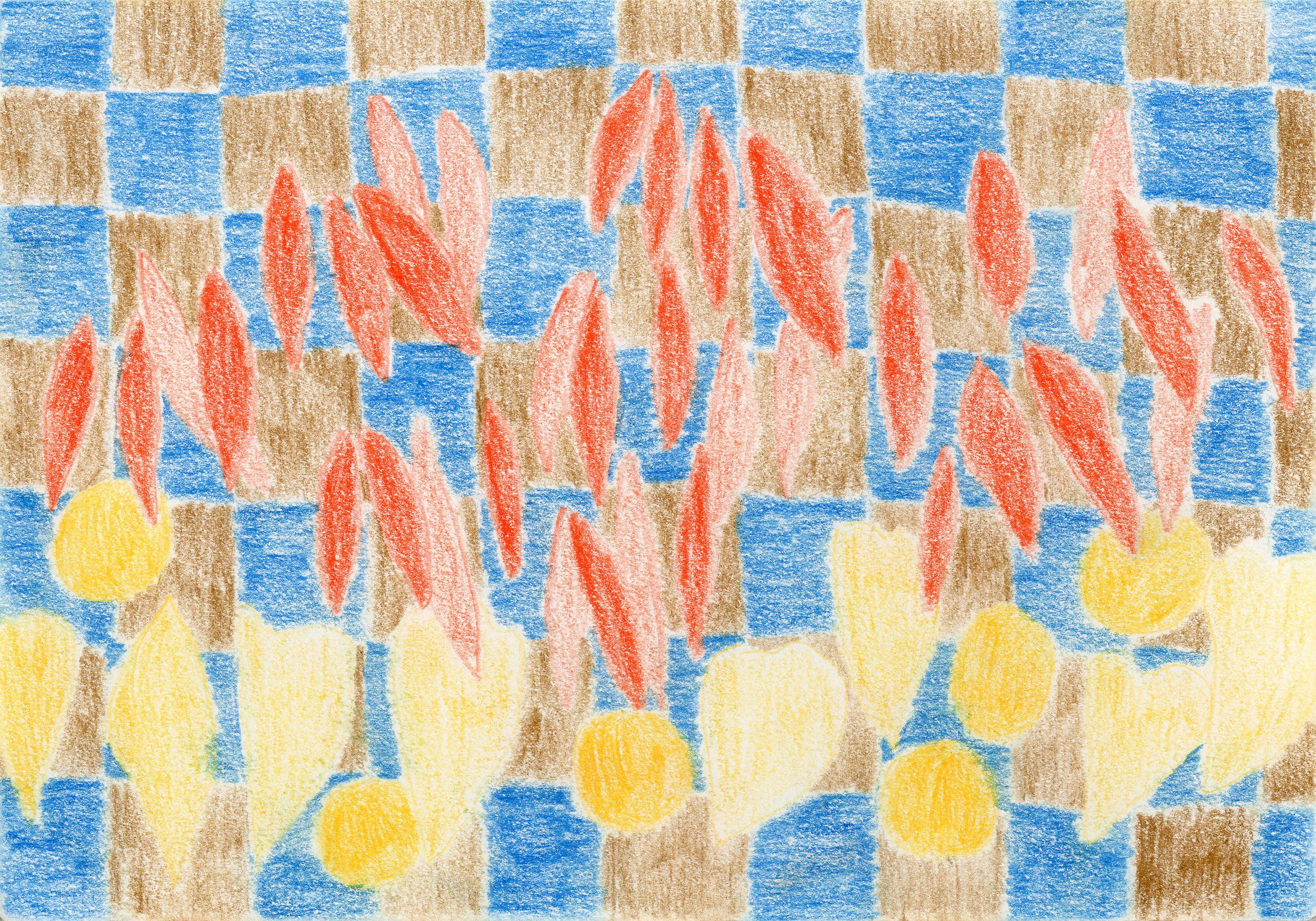 """Fall Colors I"" - Colored Pencil"