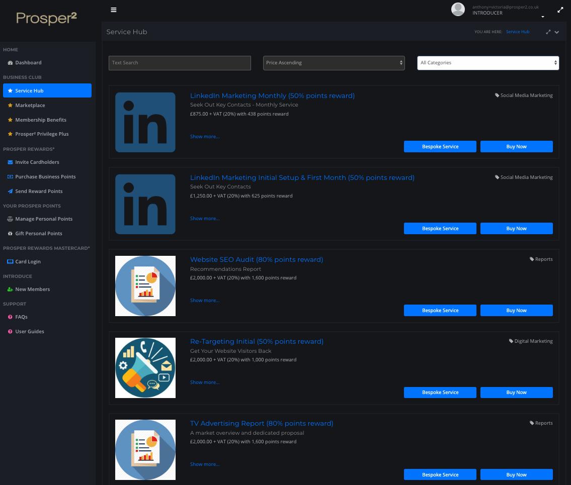Service Hub 2 Screenshot.png
