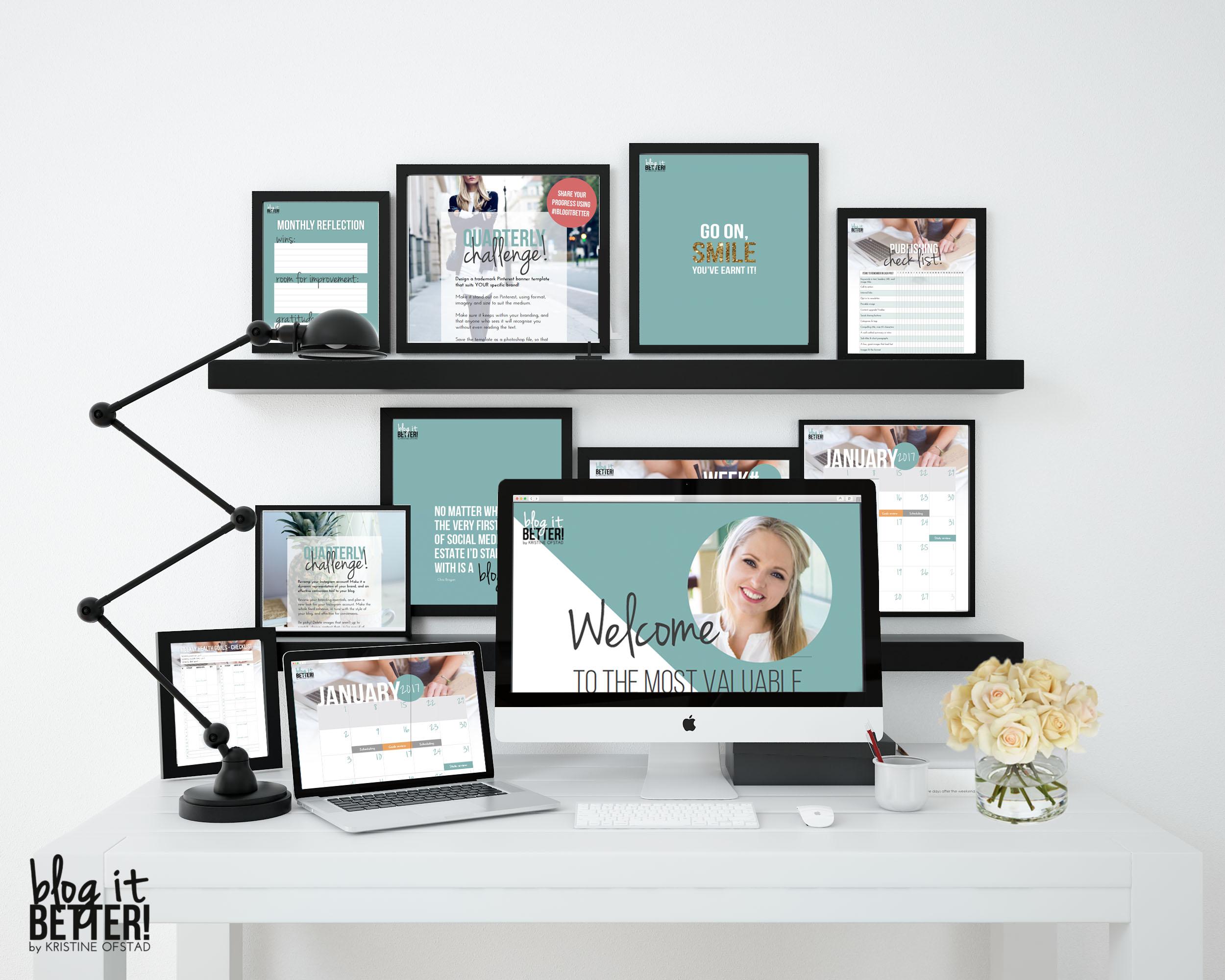 Blog it Better Ultimate Blog Planning Kit