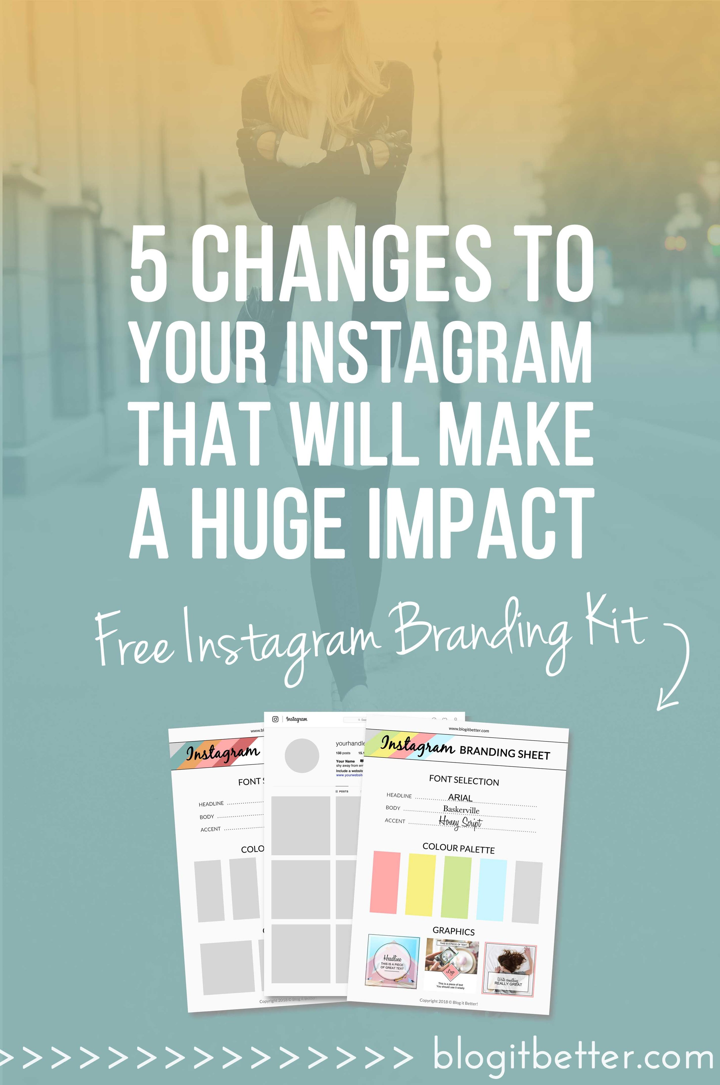 >>FREE Instagram Branding Kit<< Drastically Improve Your Instagram Engagement With These 5 Instagram Changes! Blog it Better! #instagram #socialmedia #instagramengagement #blogger #bloggingtips #socialmediatips #socialmediamarketing #instagramtips #howtouseinstagram #instagramforbusiness #instagramtraffic #blogitbetter #blogcoaching