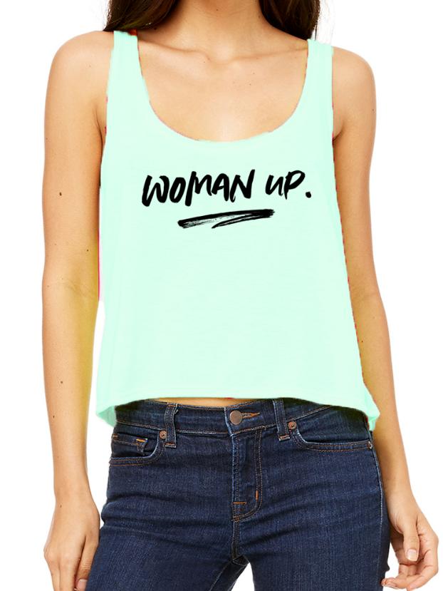Woman Up - Tank Top