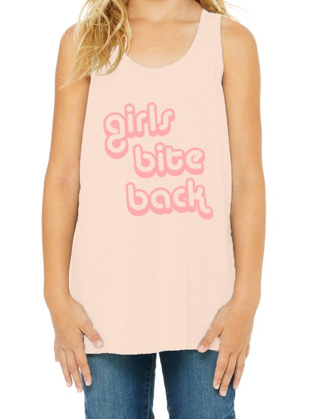 Girls Bite Back - Racerback Tank Top