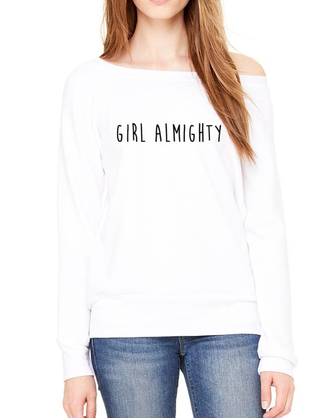Girl Almighty - Off-Shoulder Jumper