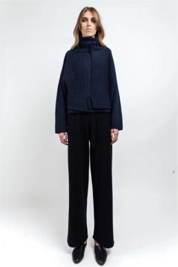 Kimono cashmere jacket