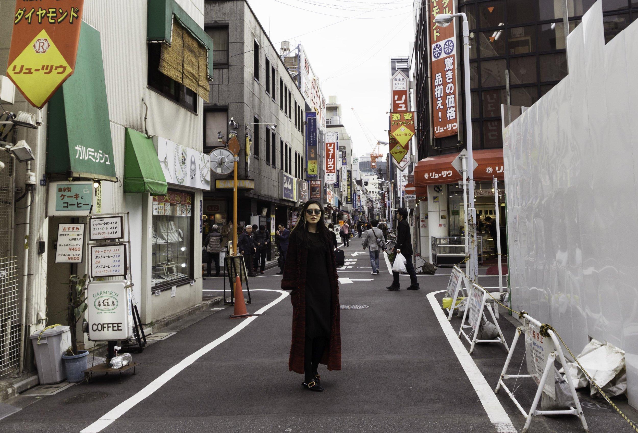 MANDKHAI in tokyo - pimp coat aw18