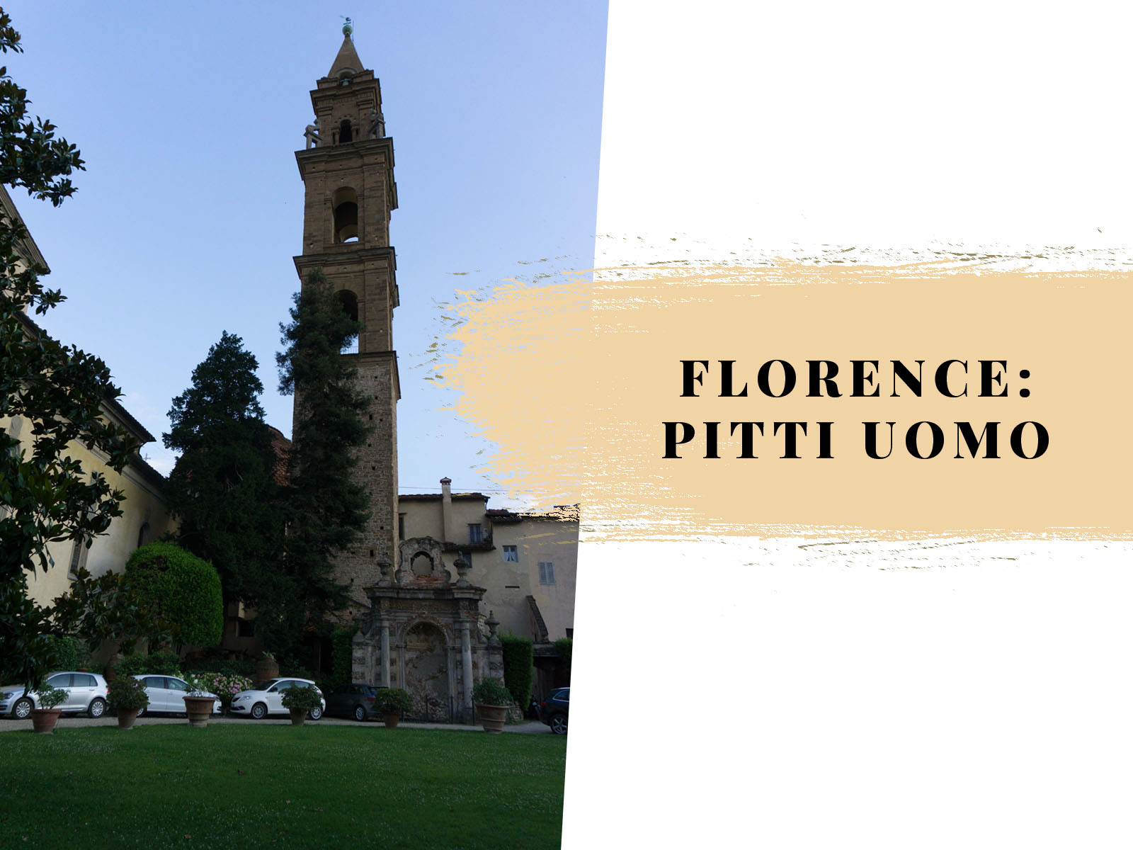 florence: pitti uomo