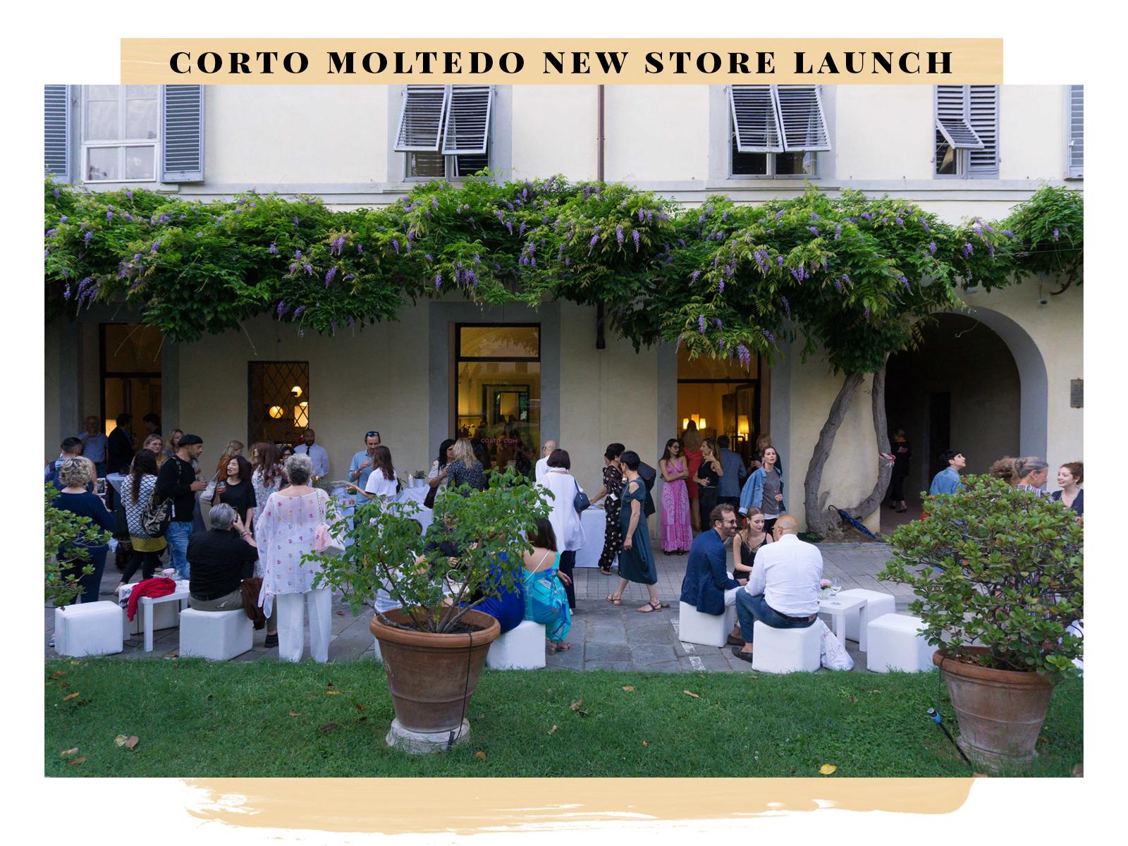 corto moltedo new store launch