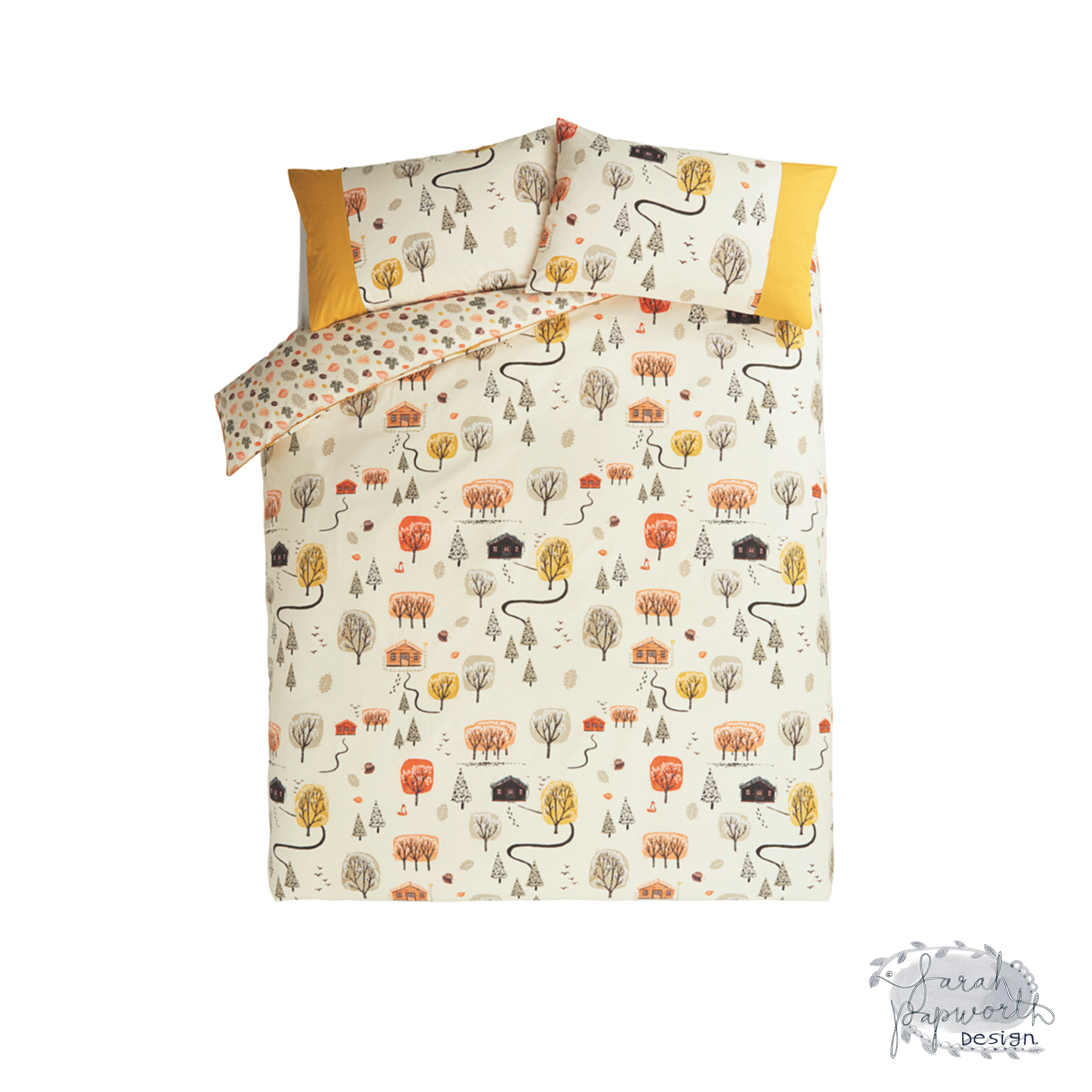 woodland-log-cabin-print-pattern-for-asda-by-sarah-papworth.png