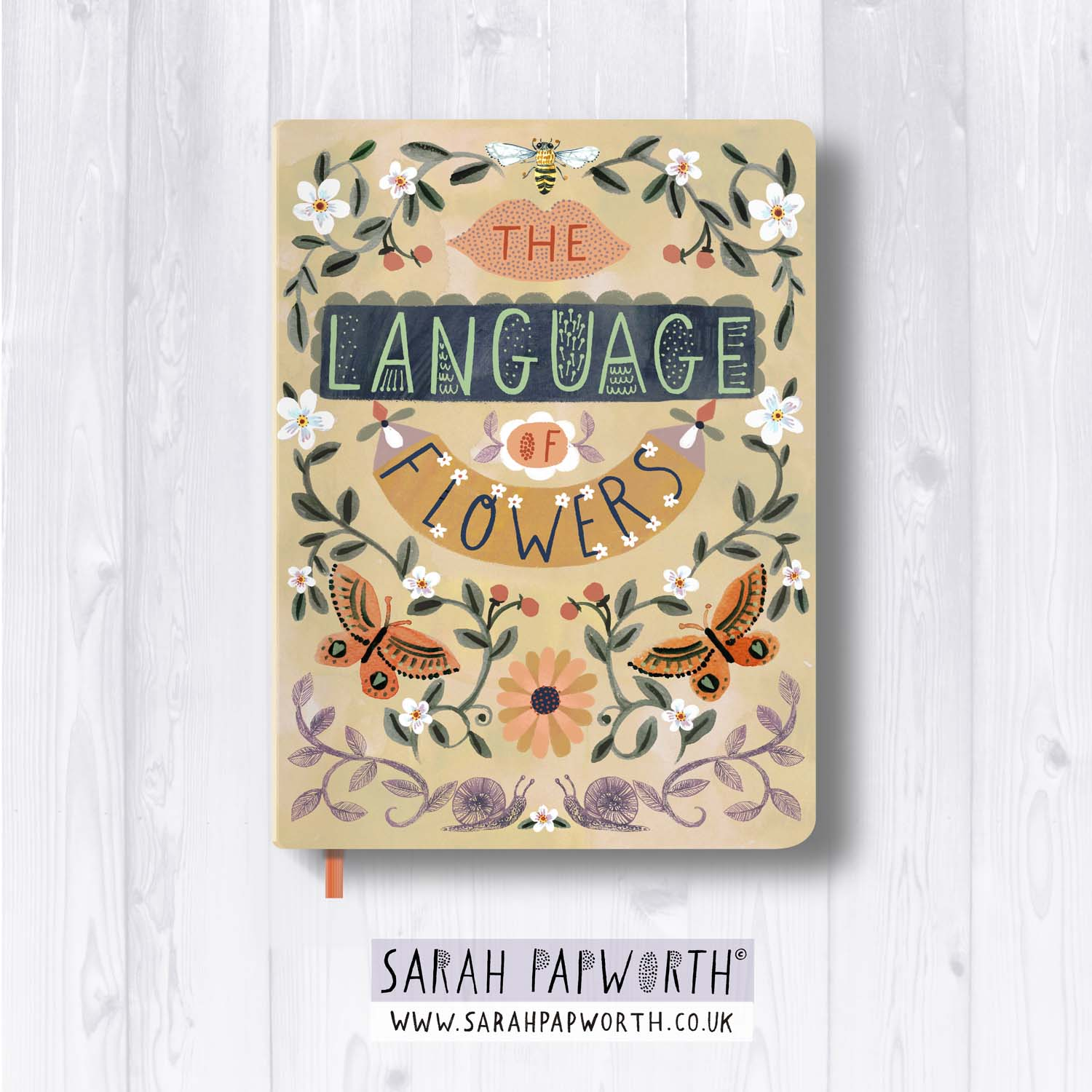 language of flowers victorian style flora and fauna stationary illustration by sarah papworth ss09.jpg